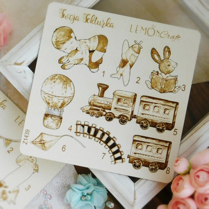 Lemoncraft Boys little world Chipboard