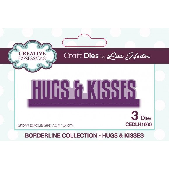Creative Expressions • Borderline Lisa Horton hugs & kisses
