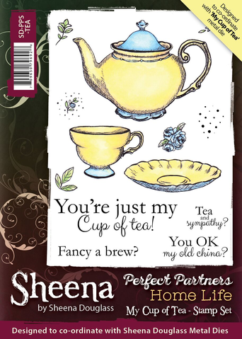 Sheena stämpel My cup of tea