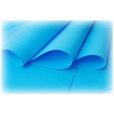 Foamiran ljusblå 29x34 cm