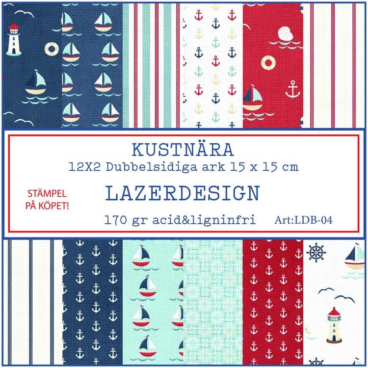LDB-04 Kustnära papperspad 6x6