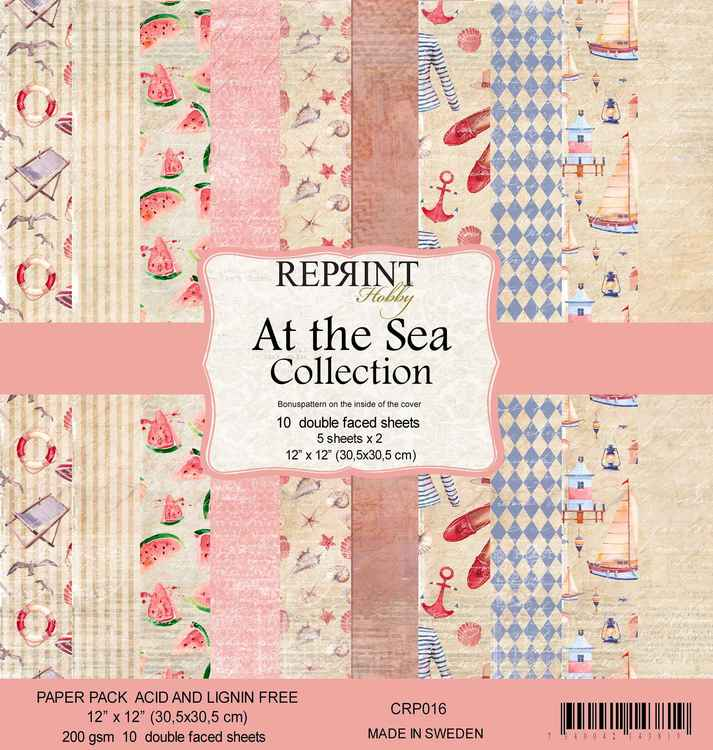 Reprint Sea Collection 12 x 12