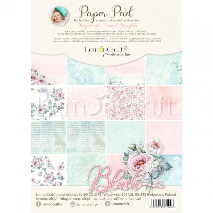 Blush A4 papperspad