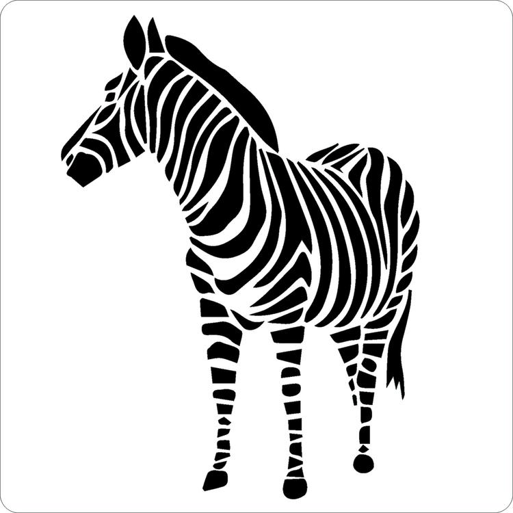 Stencil Zebra