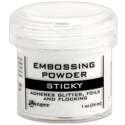 Sticky embosing powder  21 gr