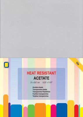 Heat resistant acetate 10pack