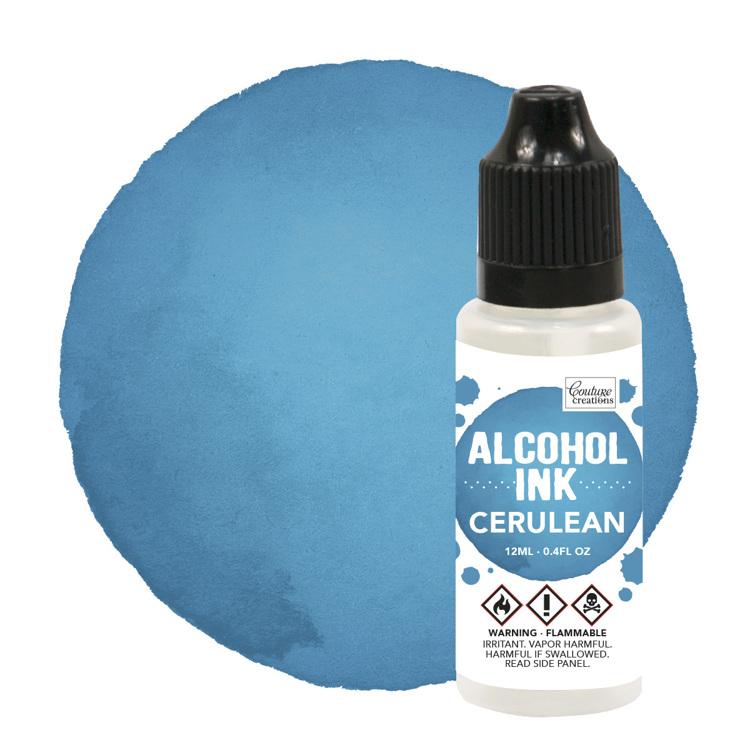 Alcohol Ink Cerulean