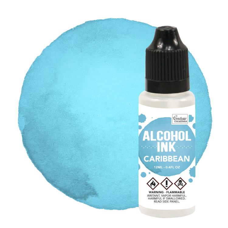 Alcohol Ink Caribbean