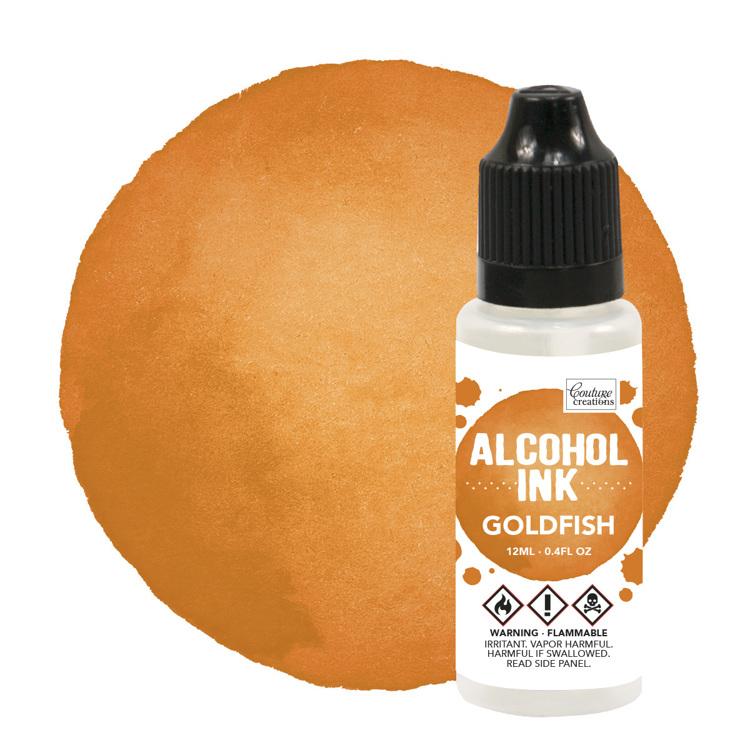 Alcohol Ink Goldfish
