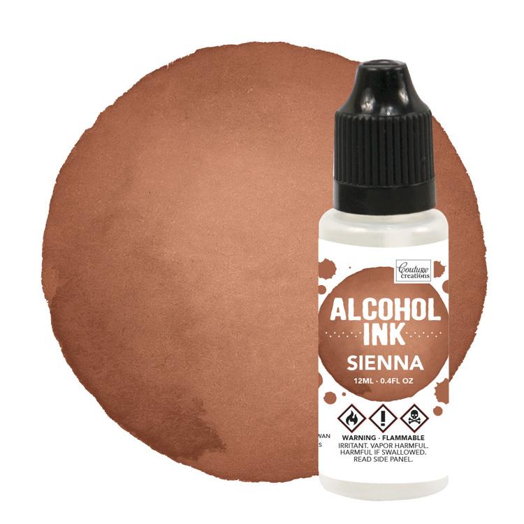 Alcohol Ink Teakwood