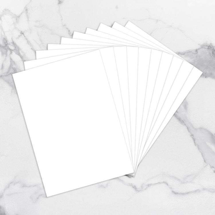 White Yupo papper A4