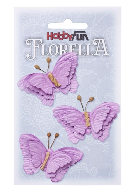 Fiorella Fjärilar lila