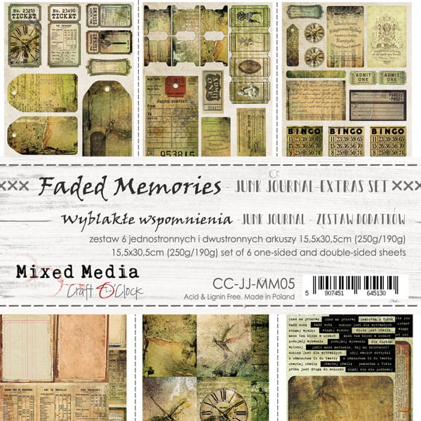 Faded memories Junk Journal