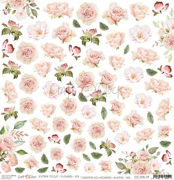 Flowers XIX Cutout