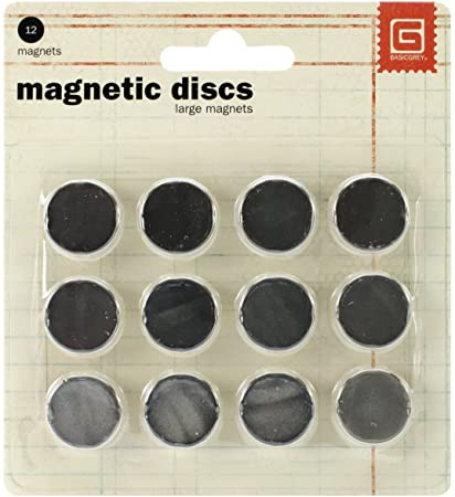 Magnetic dics large magnets