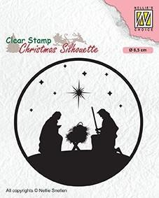 Nativity Clearstamp
