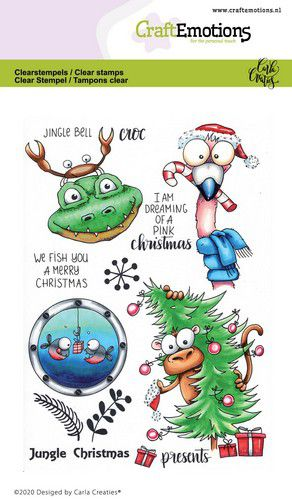 Craft emotions Clearstamp Jungle christmas