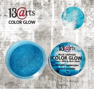 Colour Glow Blue Saphire