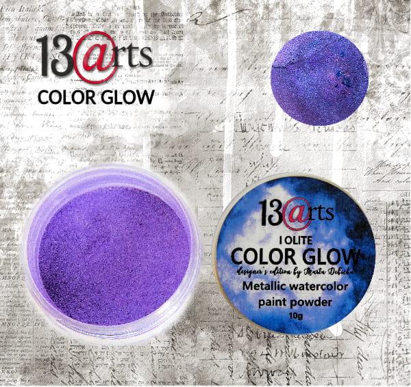 Clour glow Iolite