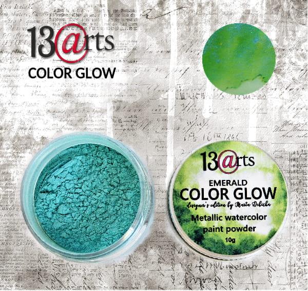 Colour glow Emerald