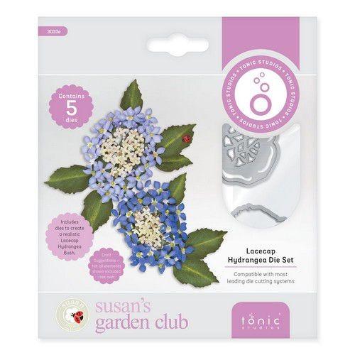 Susan's Garden Club - Lacecap Hydrangea Die Set