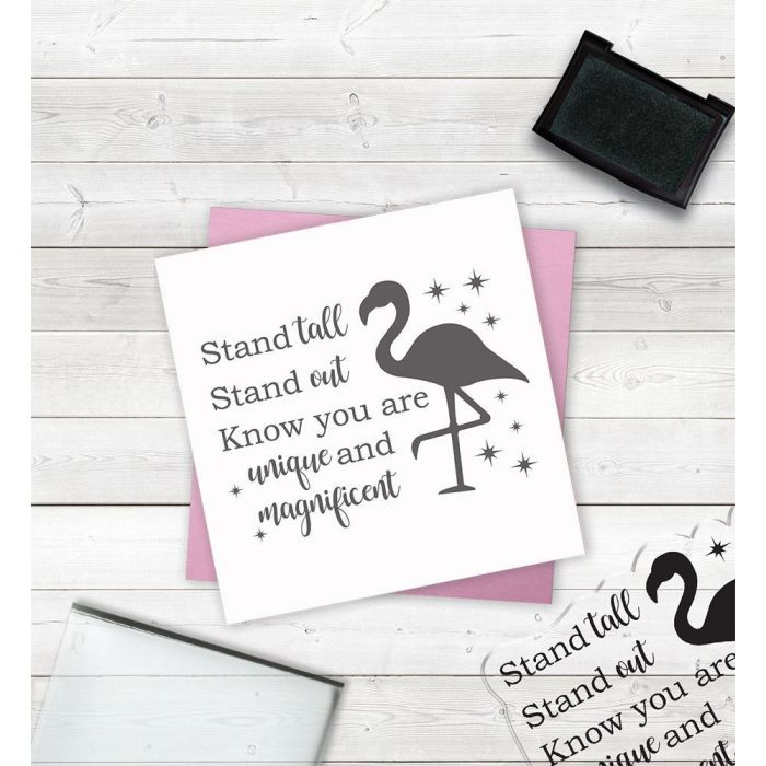 Clear Acrylic Stamps - Stand Tall