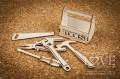 Verktygsväska  m verktyg i chipboard LA19150