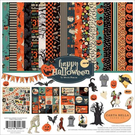 Carta Bella Collection Kit 12X12 - Happy Halloween