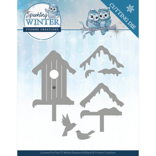 Dies  Winter Birdhouse
