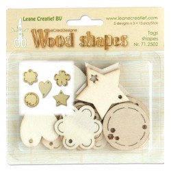 Wood shapes Tags