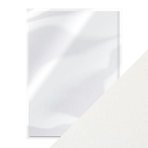 Tonic pearlescent karton - pearl white