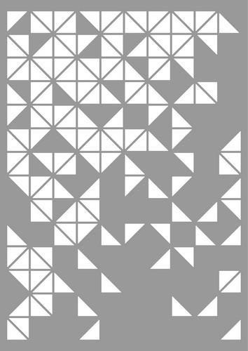 Stencil  Pattern Triangles