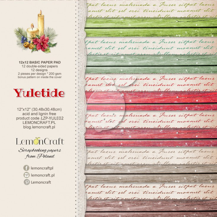 Yuletide Basic  12x12