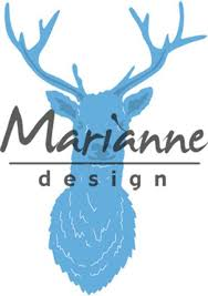Marianne Design Lro489 Tiny´s Deer head