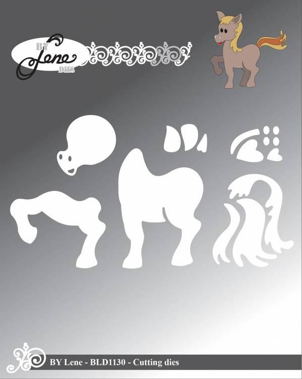 By Lene Cutting dies Pony57