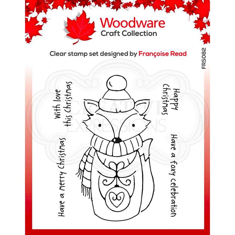 Woodware Foxy christmas