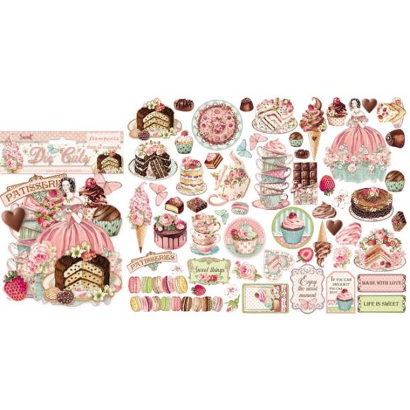Diecuts Stamperia Sweet