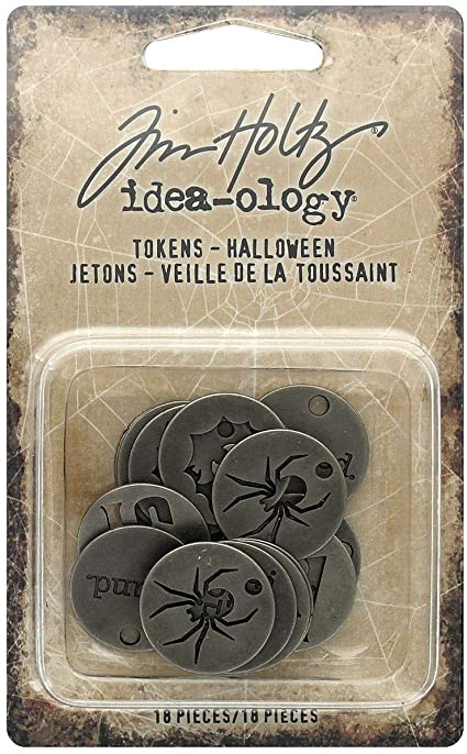 Tim Holtz Halloween tokens