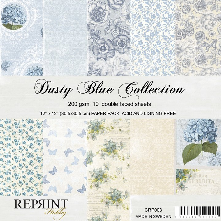 Reprint Dusty blue collection