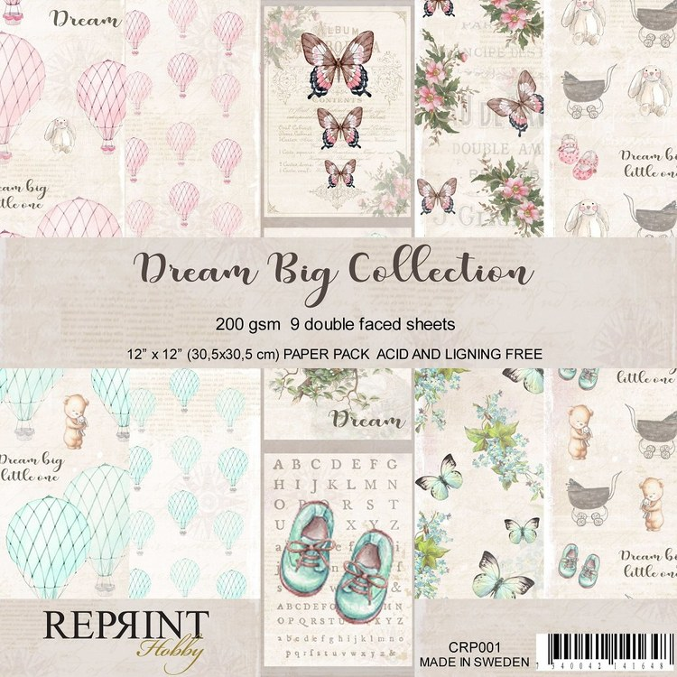 Reprint Dream big collection 12*12