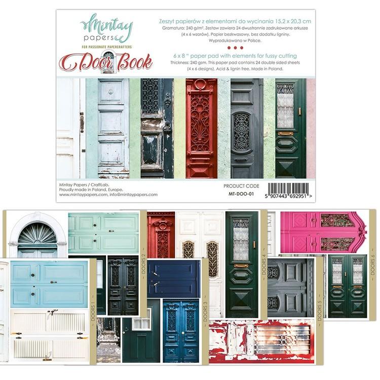 Flora Book Doors