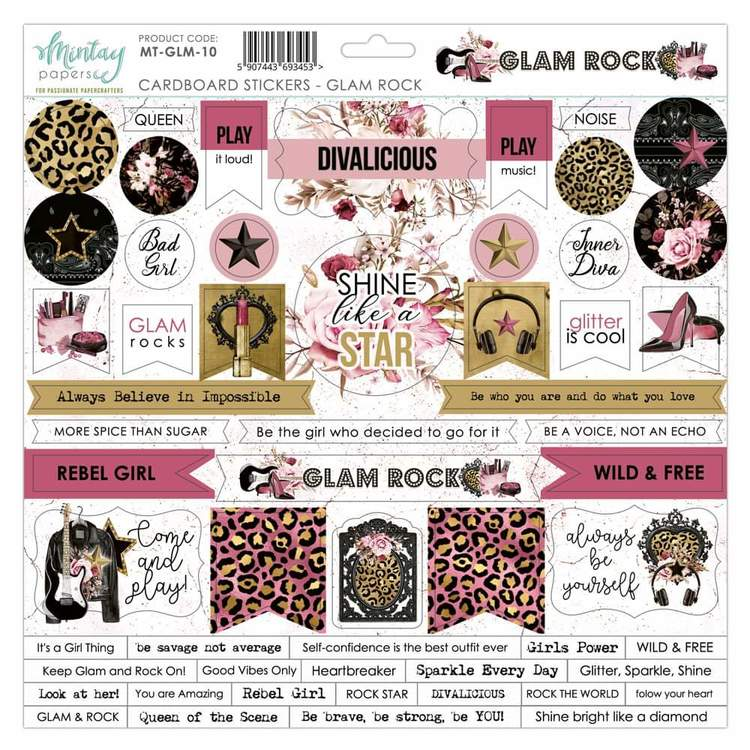 Chipboard  Glam Rock 12x12
