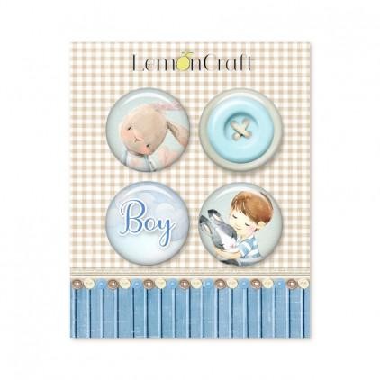 Badge Little boys world