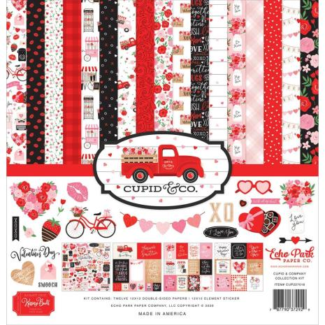 Echo Park Collection Kit 12X12 - Cupid & Co
