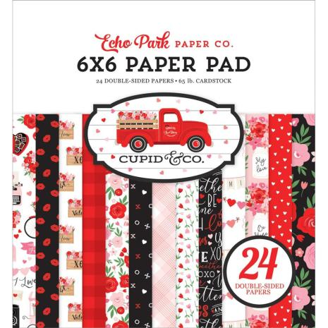 Paper Pad Echo Park - Cupid & Co. - 6x6 Tum