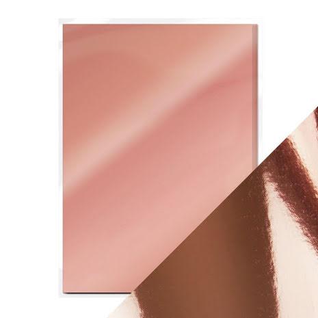 Mirror Card A4 250gm - Rose Platinum