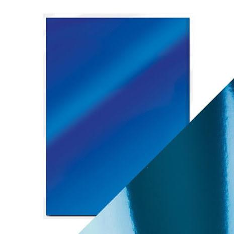 Mirror Card A4 250gm - Imperial Blue