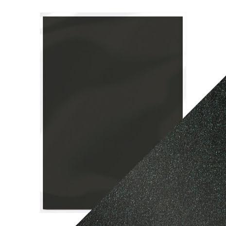 Pearlescent Card A4 250gm - Onyx Black