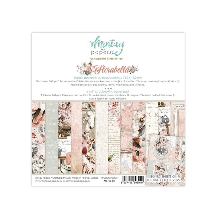 Mintays Florabella  6x6 pad