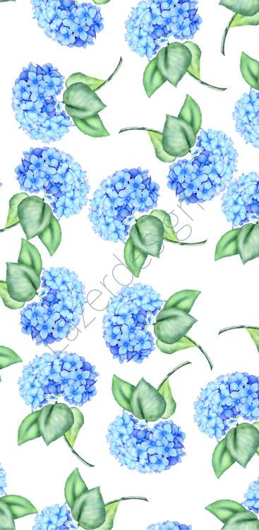 Simcard blå hortensia 1006